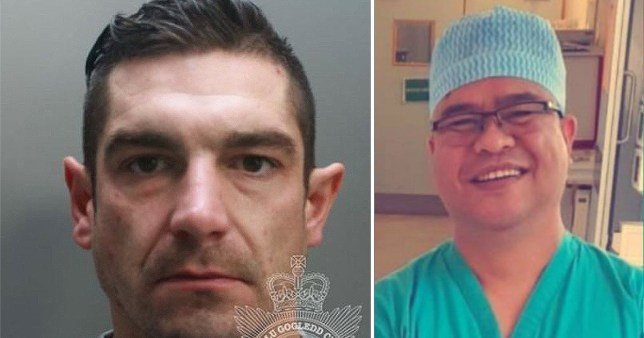A drink driver who hit and killed a 'kind and caring' nurse outside the hospital he worked at has been jailed for seven years and six months.