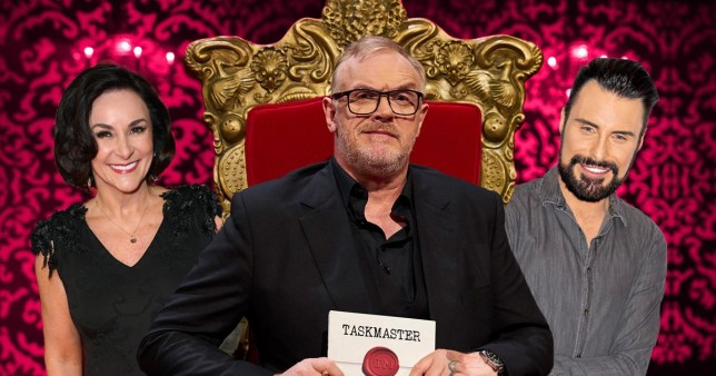 Rylan and Shirley Ballas for Taskmaster