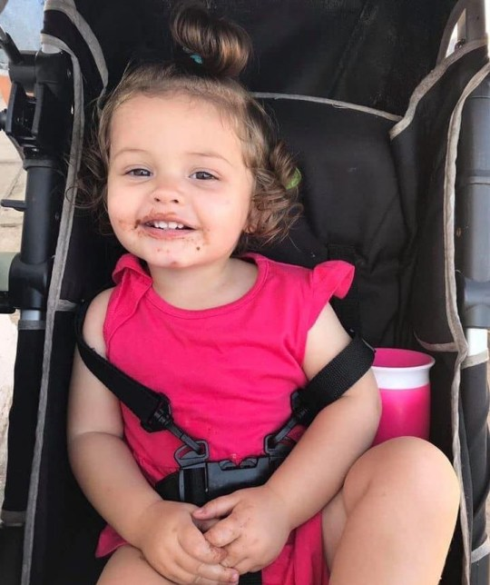 A toddler who was believed to have swallowed toilet cleaner died
