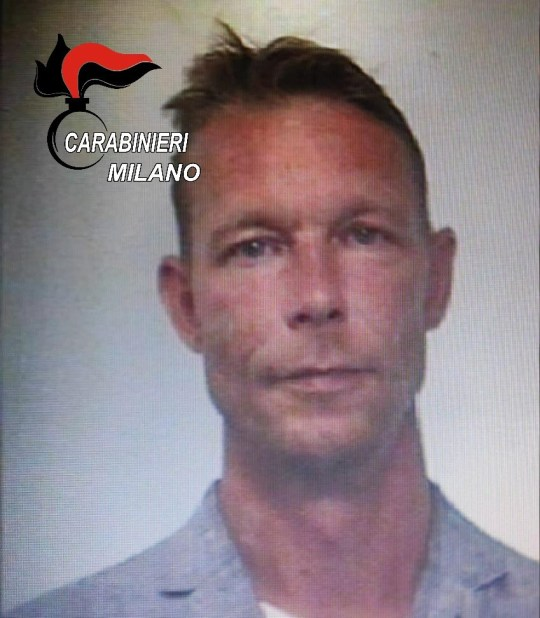 A handout picture made available to Reuters on July 16, 2020 from the Carabinieri military police shows a man identified as Christian Brueckner, at the time when he was arrested in 2018, under an international warrant for drug trafficking and other crimes. Carabinieri/Handout via REUTERS ATTENTION EDITORS THIS IMAGE HAS BEEN SUPPLIED BY A THIRD PARTY. NO RESALES. NO ARCHIVES. DO NOT OBSCURE LOGO. MANDATORY CREDIT.