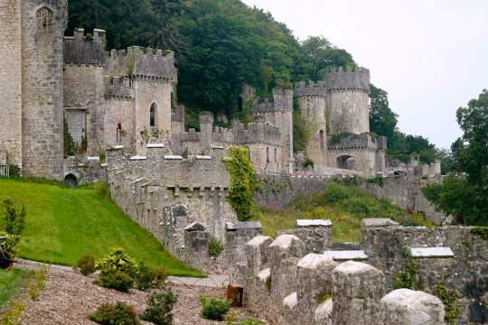 Gwrych Castle in Wales, where I'm A Celebrity 2020 is held
