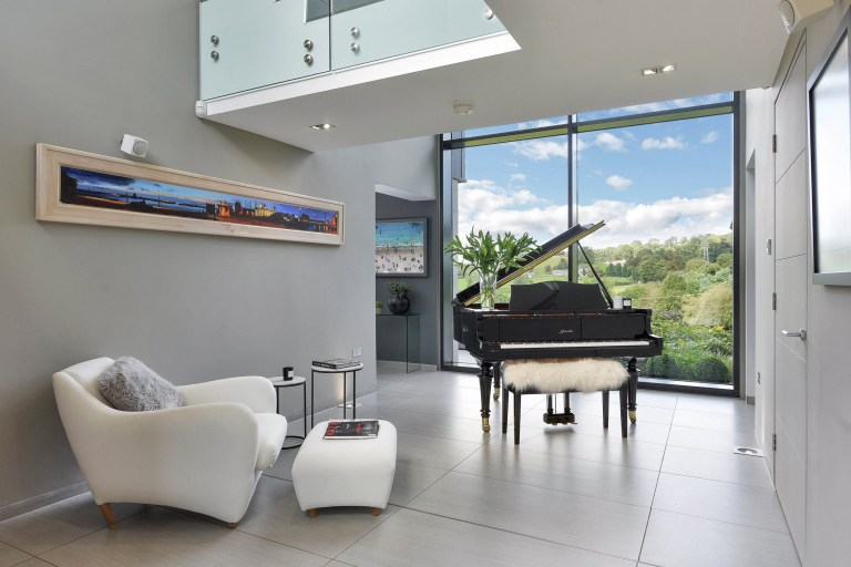 Inside The Edge - the piano room