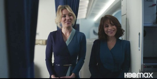The Flight Attendant stars Kaley Cuoco and Rosie Perez