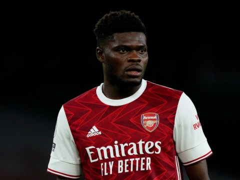 Thomas Partey gives Arsenal boost over injury return