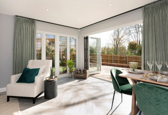 interiors of hawthornden help to buy home in yalding, kent