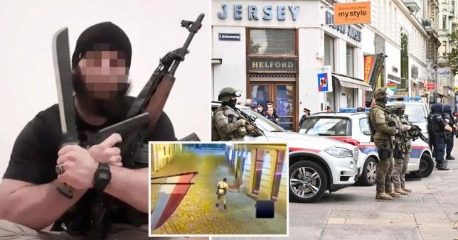 Un homme armé de Vienne a tenté de rejoindre l'Etat islamique