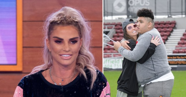 Katie Price calls out troll in blackface mocking Harvey