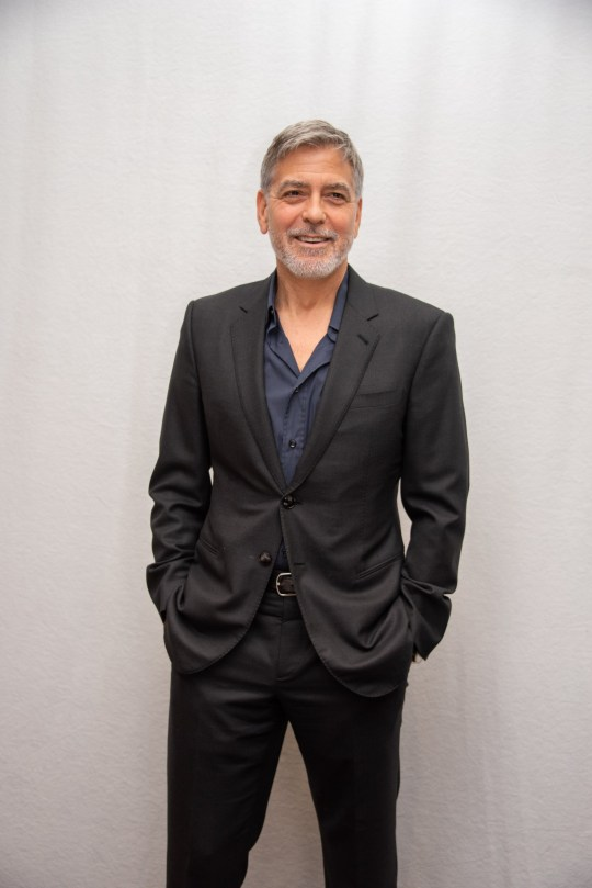 George Clooney hospitalised after '25 pound weight reduction' for brand spanking new movie
