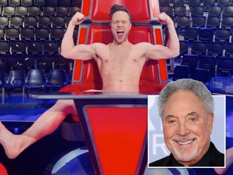 Olly Murs reveals he sat naked on Sir Tom Jones' chair on The Voice last year