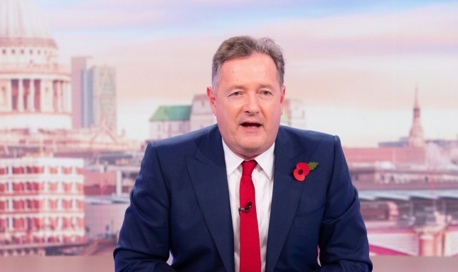 Editorial use only Mandatory Credit: Photo by Ken McKay/ITV/REX (10991811w) Piers Morgan 'Good Morning Britain' TV Show, London, UK - 02 Nov 2020