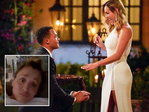 The Big Bang Theory's Kaley Cuoco is all of us as she's left speechless by Clare Crawley's Bachelorette exit