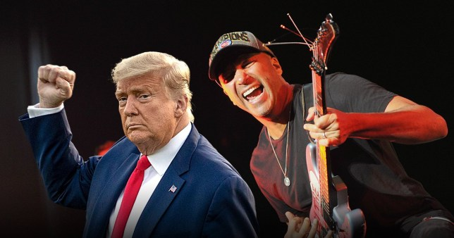 Picture: Getty Tom Morello not here for Trump supporters using Killing In The Name Of