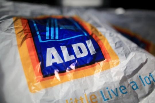 Aldi shopping bag