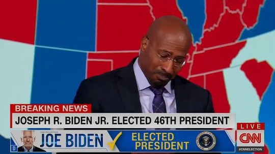 'It's easier to be a dad this morning': CNN commentator breaks down over Biden win CNN