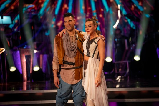 Luba Mushtuk and Jason Bell on Strictly Come Dancing