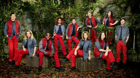 Vernon Kay, Beverley Callard, Sir Mo Farah CBE, Jessica Plummer, Shane Richie, Victoria Derbyshire, AJ Pritchard, Giovanna Fletcher, Hollie Arnold MBE and Jordan North in the new series of I'm A Celebrity Get Me Out Of Here