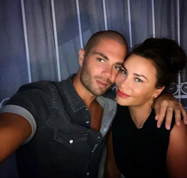 Max George and his girlfriend Stacey Giggs