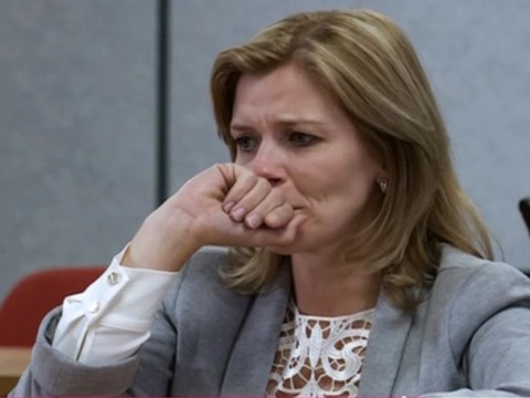 Coronation Street spoilers: Broken Leanne Battersby pleads with the court to save Oliver