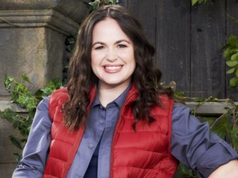 What books has I'm A Celebrity's Giovanna Fletcher written and who is she married to?