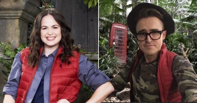 Tom Fletcher reveals Giovanna took kids to I'm A Celeb castle before going into hiding Pics: ITV/Tom Fletcher/Instagram