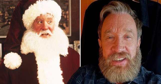 Tim Allen and the actor in The Santa Clause