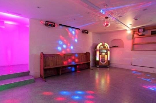 the disco room