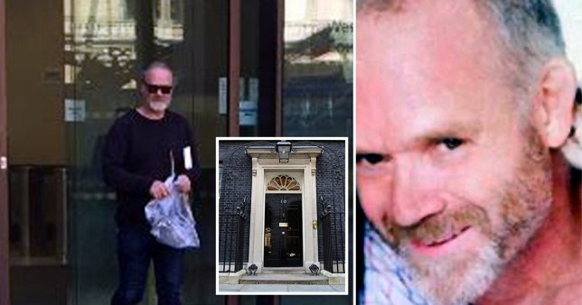 Toby Champeney admitted leaving the suspicious package
