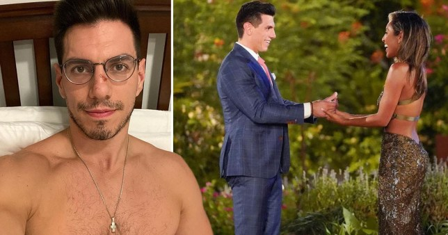 The Bachelorette star Peter Giannikopoulos