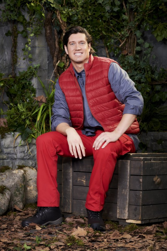 Vernon Kay in I'm A Celebrity... Get Me Out Of Here!