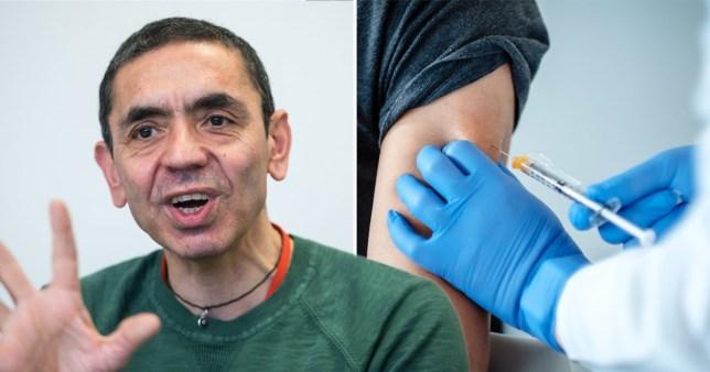 Scientist behind Pfizer vaccine says it can end pandemic Ugur Sahin