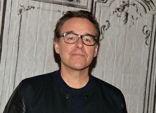 Director Chris Columbus on red carpet