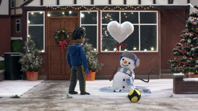 still from the john lewis christmas advert 2020
