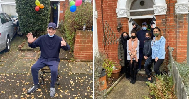 Britain's longest-suffering Covid patient, 56, is back home after 222 days Facebook