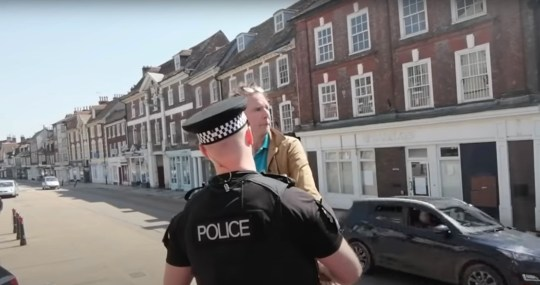 Dorset Police forced Dominic Muir, who runs Christian charities Now Believe and Jesus Fields, to move on while he was preaching in Blandford, Dorset, but it was later found that he was not breaching coronavirus guidelines.