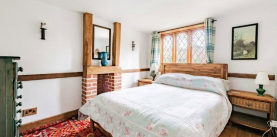 Thatched cottage with tigers as neighbours up for sale