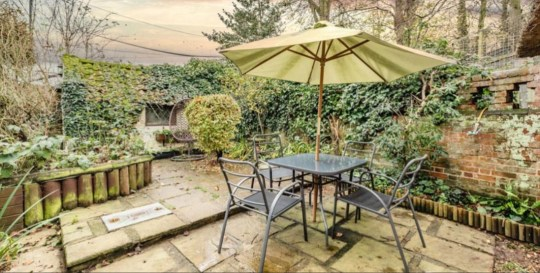 Thatched cottage with tigers as neighbours up for sale - outdoor space