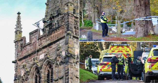 Man, 64, dies after horror fall from church building where he was working Pics: Snapper SK