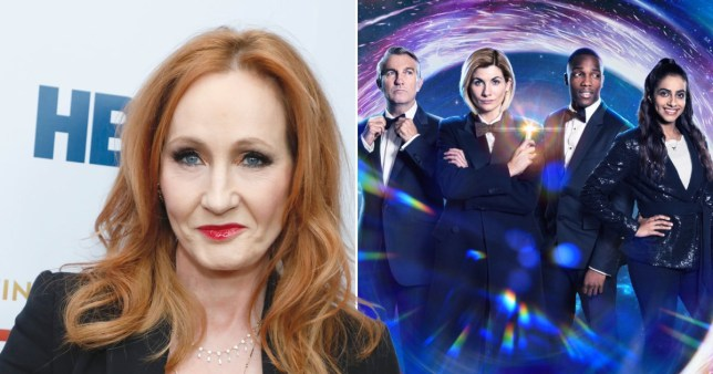 JK Rowling was asked to write an episode of Doctor Who Rex/Getty