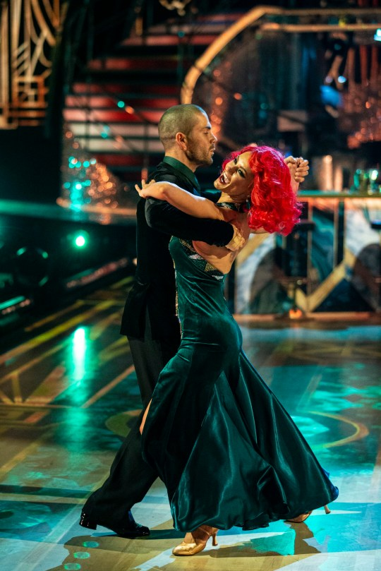 Dianne Buswell Max George Strictly Come Dancing