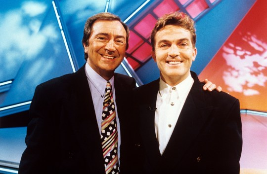 Des O'Connor and Bradley Walsh