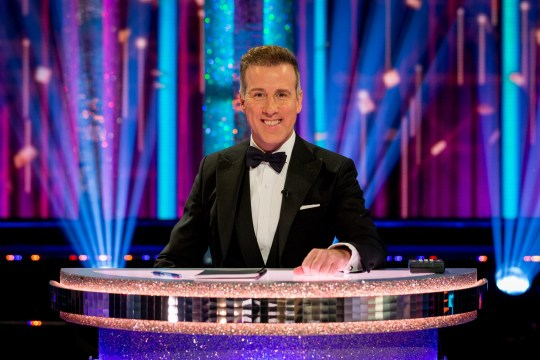 Anton Du Beke on Strictly Come Dancing