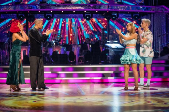 Max George and Maisie Smith on Strictly Come Dancing