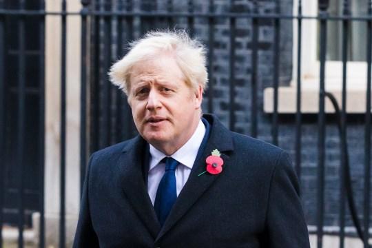 Prime Minister Boris Johnson departs Downing Street