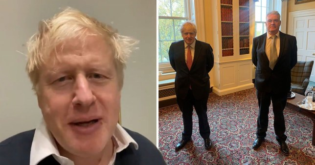 Bojo's message after being told to self-isolate for two weeks PA