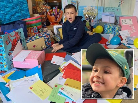 Boy, 9, with terminal illness sent hundreds of birthday cards from around world