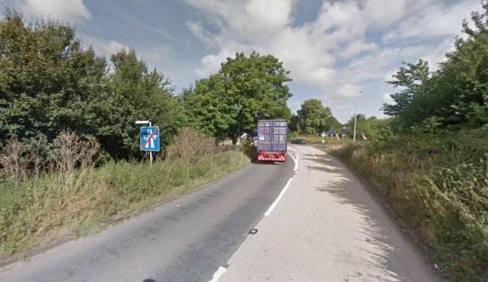 M1 slipway junction 18, Northamptonshire Picture: Google Maps