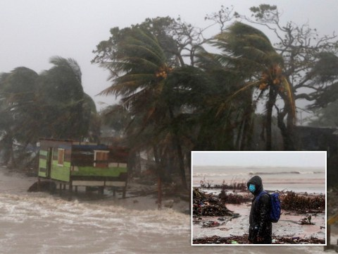 Hurricane Iota makes landfall and batters Nicaragua with 155mph winds