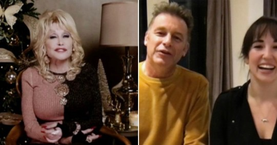 Dolly parson and chris packham