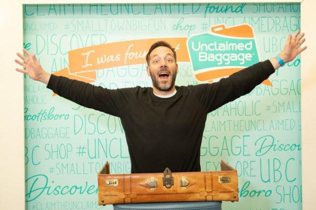 Jonathan Thompson at Unclaimed Baggage