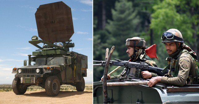 China 'cooked Indian soldiers alive with secret microwave pulse weapon'
